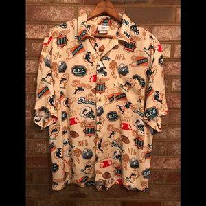 Vintage NFL Miami Dolphins Hawaiian style shirt